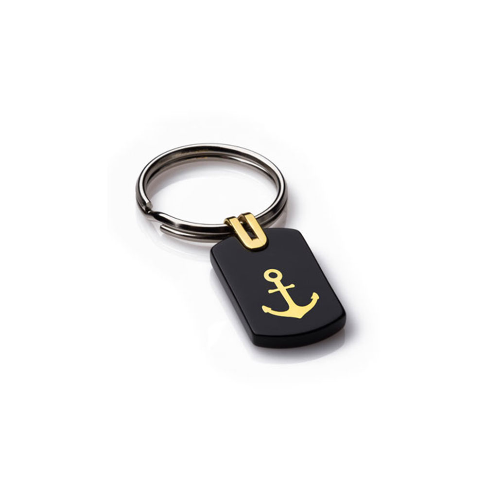 Anchor Gold Key Ring (Small)