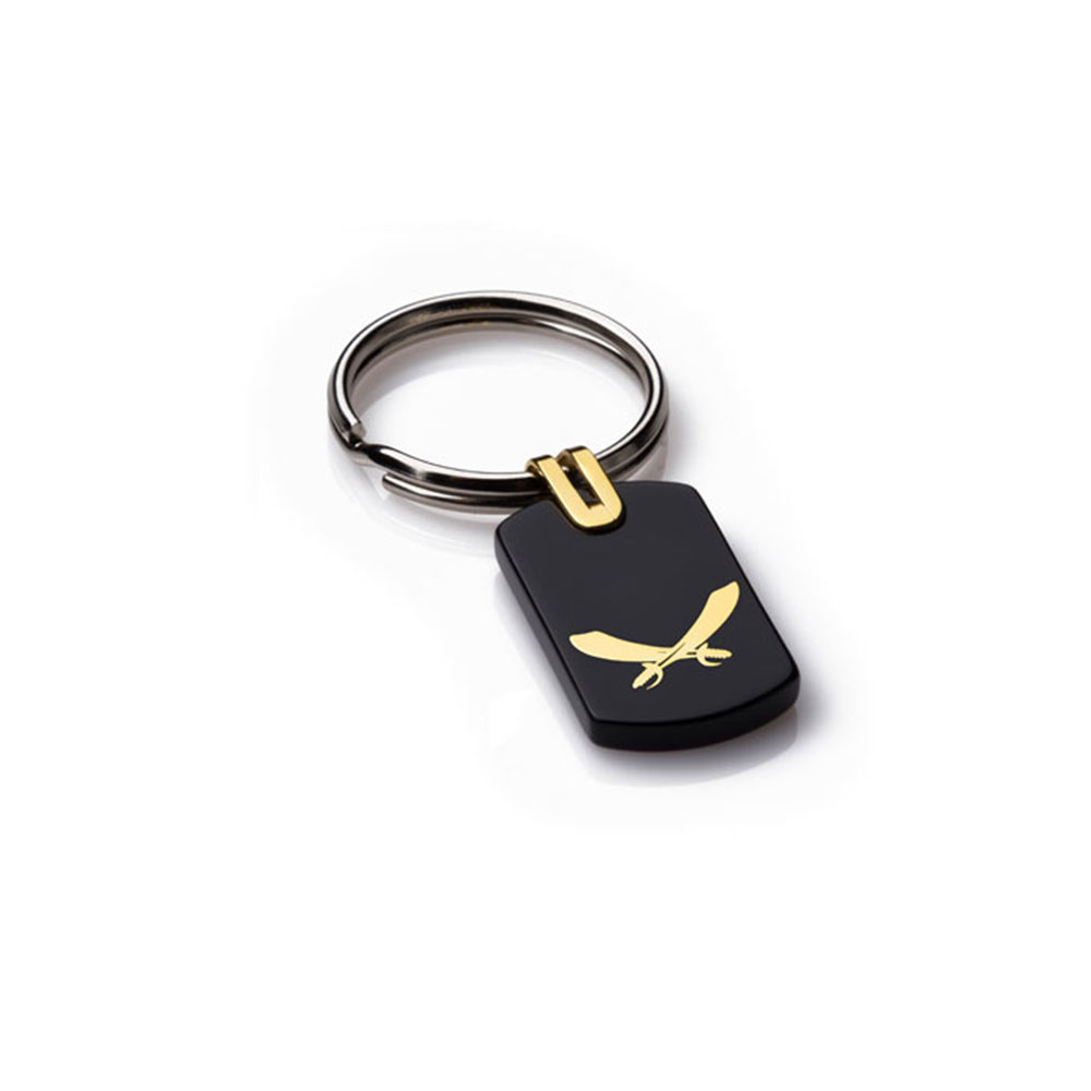Battle Gold Key Ring (Small)
