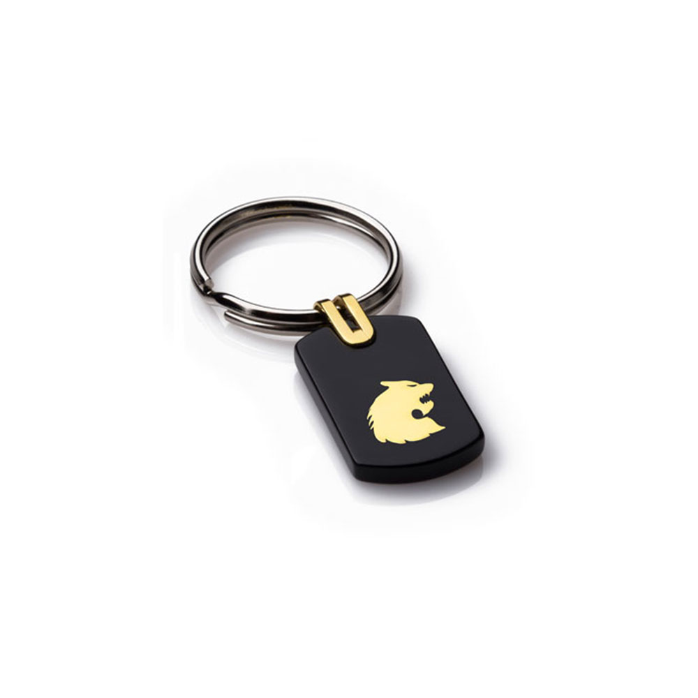 Wolverine Gold Key Ring (Small)