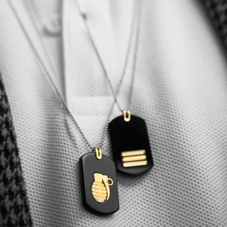 mens-gold-necklace-dog-tag-commander-yellow-14k-stainless-steal-ball-chain-rockmanjewerly-089488-2